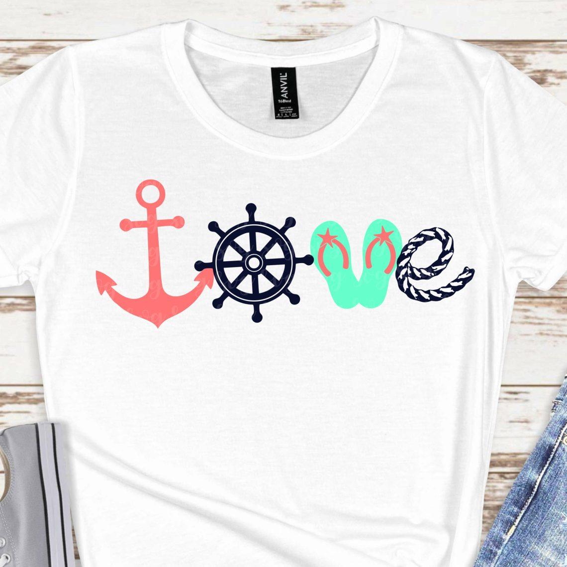 Download love beach svg,beach svg, anchor svg, flip flop svg ...