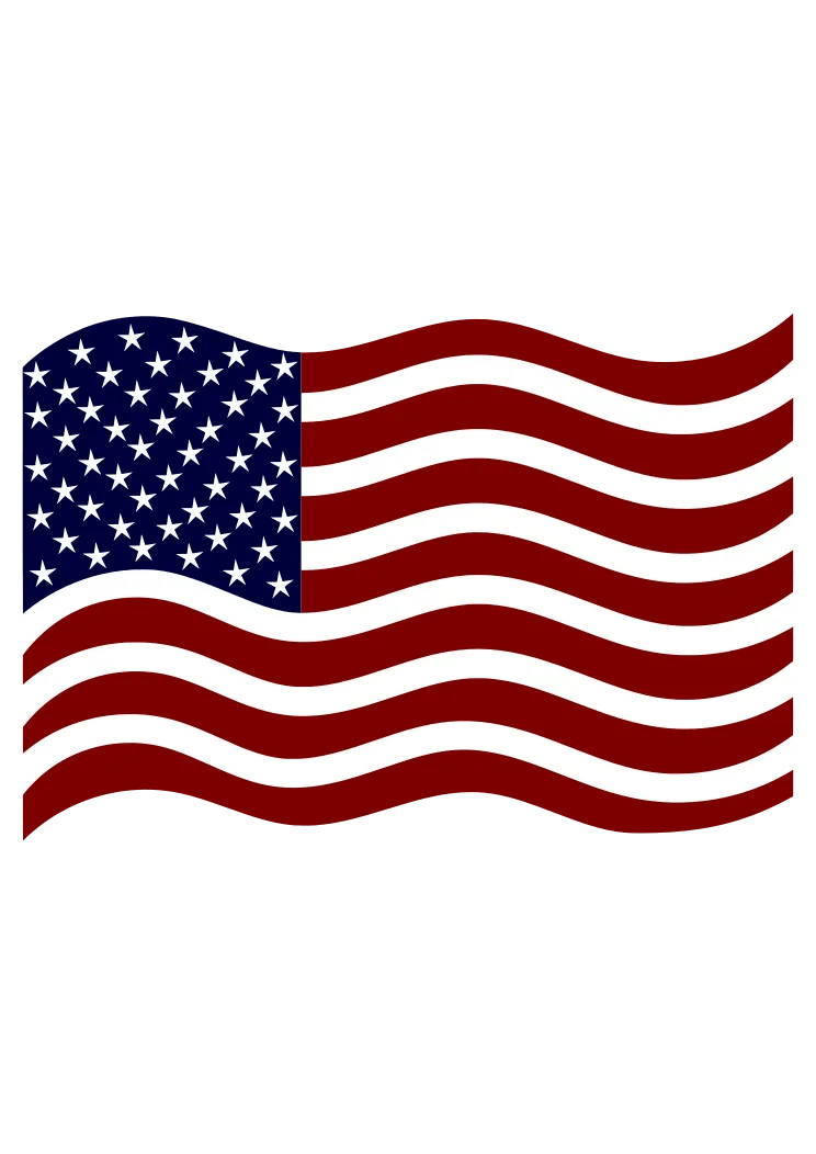 Download USA American Flag Clipart Free SVG File - SvgHeart.com