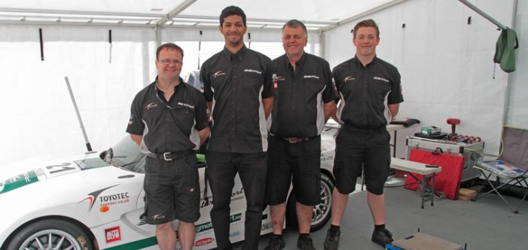 SVG Motorsport Team at Brands Hatch