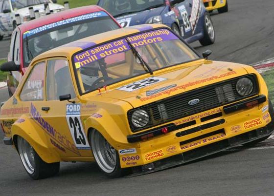Craig Rainer's Ford Escort Mk2