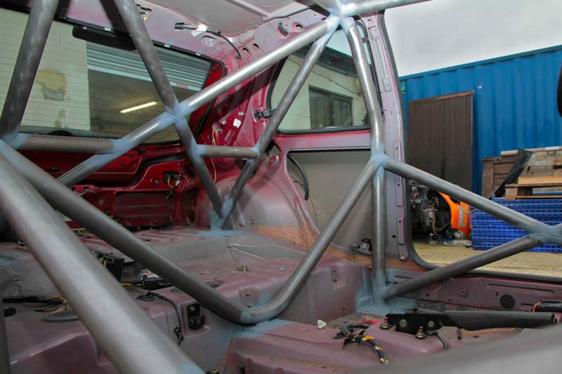 Peugeot 306 Roll Cage