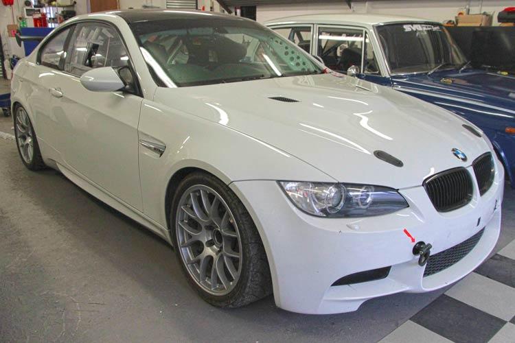 BMW M3 Race Car Preparation