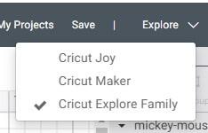 Cricut Explore or Cricut Maker
