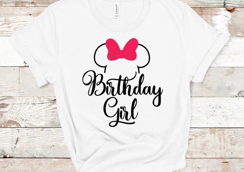 Birthday Girl SVG File