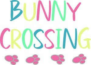 Bunny Crossing SVG Download