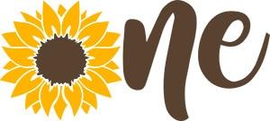 Sunflower Onesie SVG Download