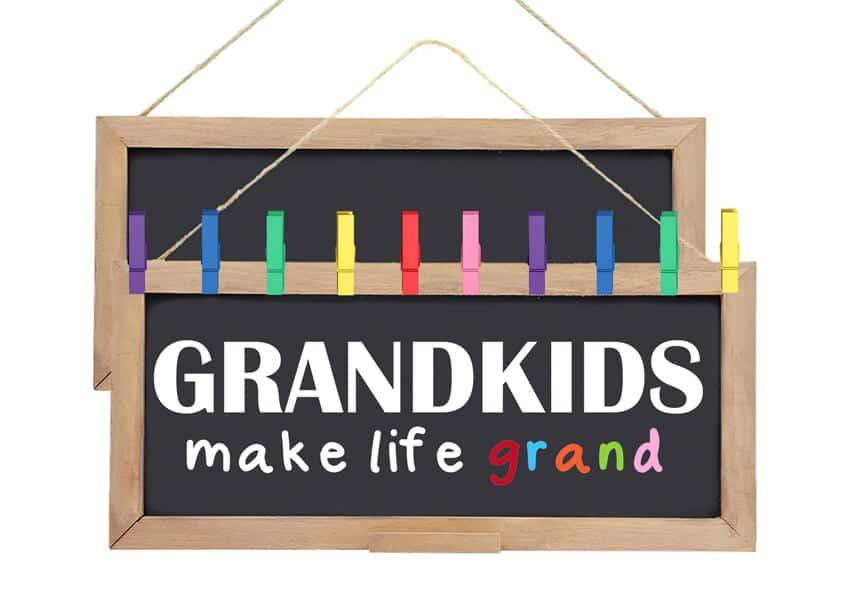 Grandkids Make Life Grand SVG File