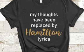 My Thoughts Have Been Replaced By Hamilton Lyrics SVG Shirt