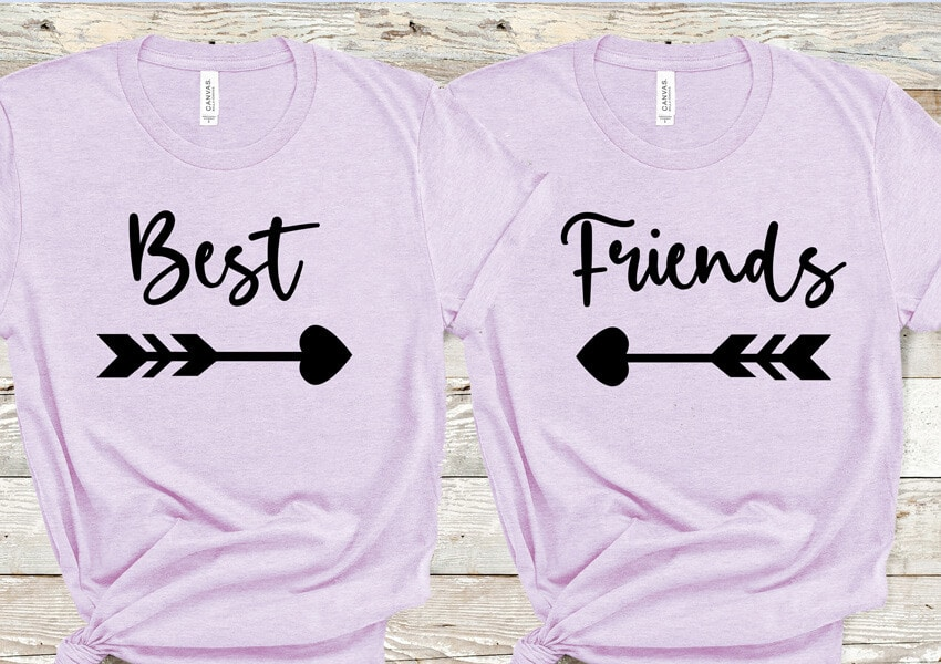 Best Friends SVG File
