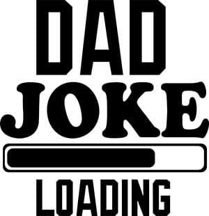 Dad Joke Loading SVG Download