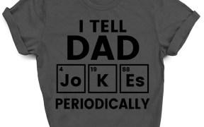 I Tell Dad Jokes Periodically SVG Shirt