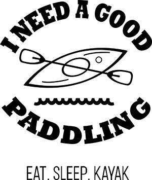 I Need A Good Paddling SVG File
