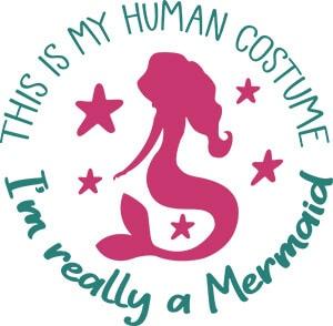 I'm Really A Mermaid SVG File