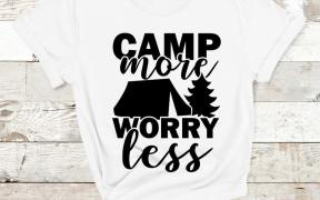 Camp More Worry Less SVG