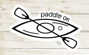 Paddle On SVG File