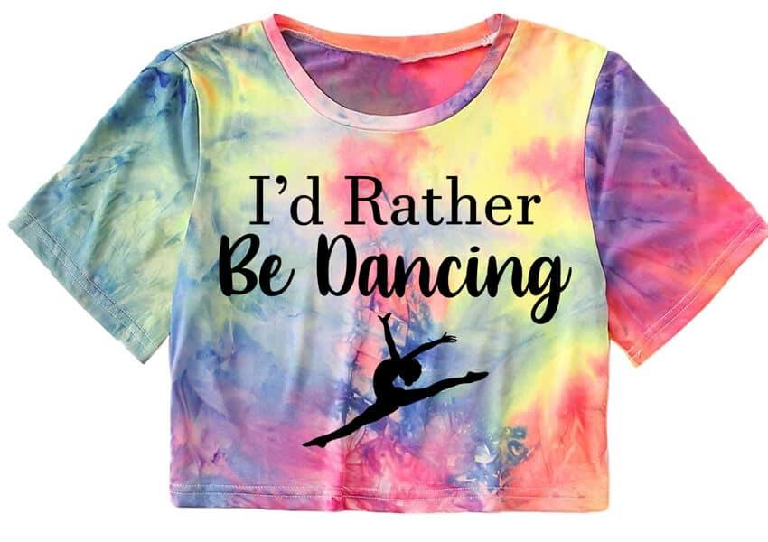 I'd Rather Be Dancing SVG File