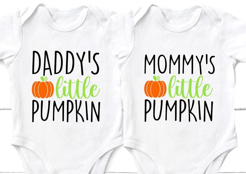 Daddy's Little Pumpkin Free SVG