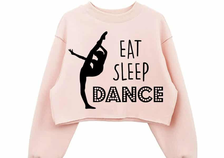 Eat Sleep Dance Free SVG File