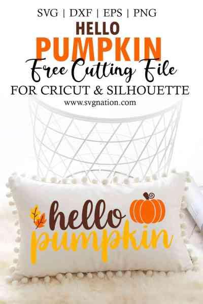 Hello Pumpkin SVG File