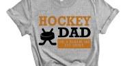 Hockey Dad Free SVG Cut File