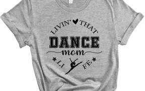 Livin That Dance Mom Life Shirt SVG
