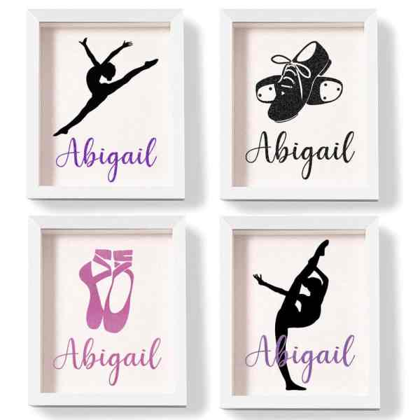 Personalized shadow box for dance pins