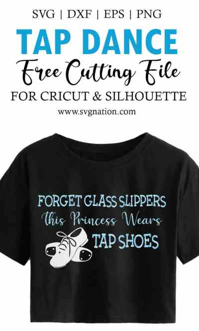 This Princess Wears Tap Shoes Tap SVG