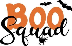 Boo Squad Free SVG Cut File