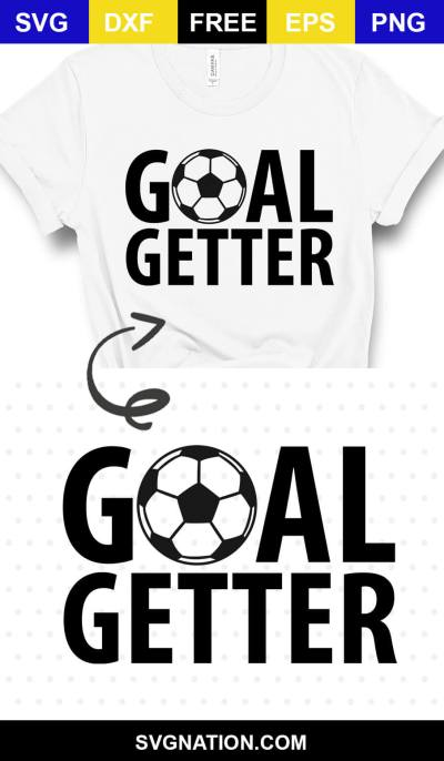 Goal Getter Free Soccer SVG