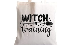 witch in training free halloween svg file