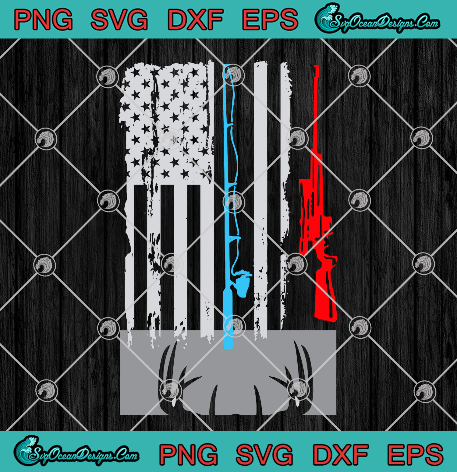 Download Love Guns And Fishing Rods American Flag Svg Hunting Svg Svg Png Eps Dxf Art Vector Designs For Shirts Svg Png Eps Dxf Cricut Silhouette Designs Digital Download