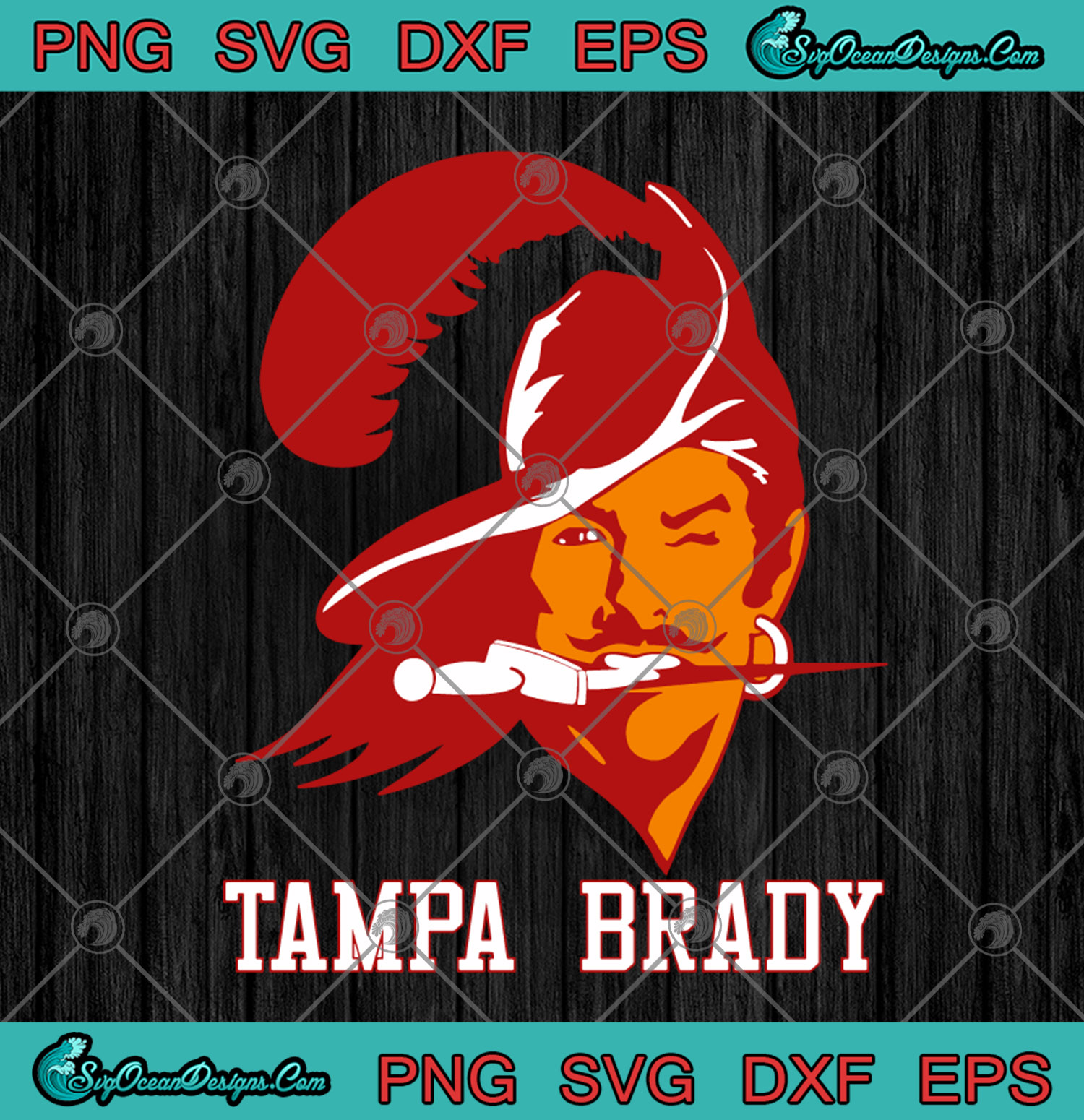 American Football Tommy Tampa Tom Brady Tampa Bay Buccaneers Svg Png Dxf Eps Tom Brady Football Cutting File Cricut Silhouette Art Designs Digital Download