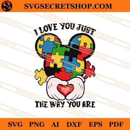 Autism Mickey SVG