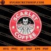 Scarlet Coffee SVG