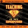 Super Teacher SVG
