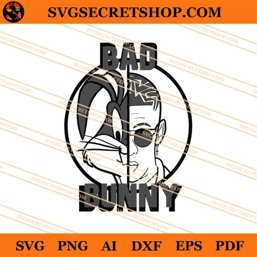 Bad Bunny SVG