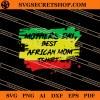 African Mom SVG