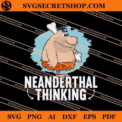 Neanderthal Thinking SVG