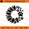 Sunflower Paw SVG