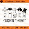 Wine Celebrate Diversity SVG