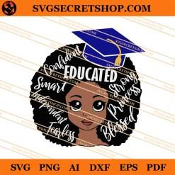 Black Girl Educated SVG
