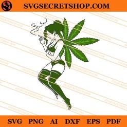 Cannabis Fairy SVG