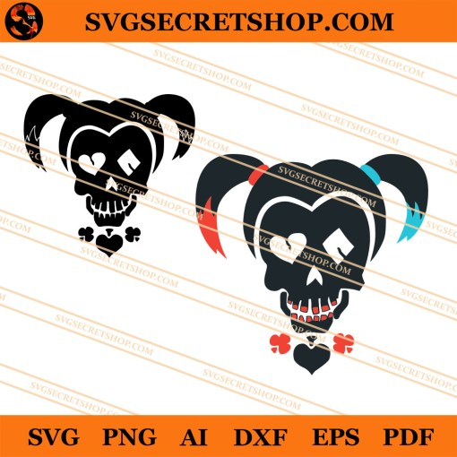 Harley Quinn Icon SVG