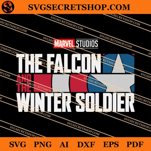 Mavel The Falcon And The Winter Soldier SVG