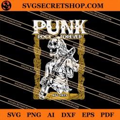 Punk Rock Forever SVG