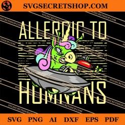 Unicorn Allergic To Humans SVG