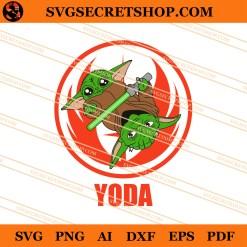 Yoda And Baby Yoda SVG