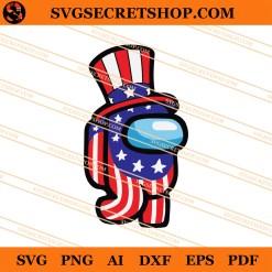 4th Of July Among Us SVG