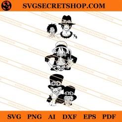 Ace Luffy Sabo SVG