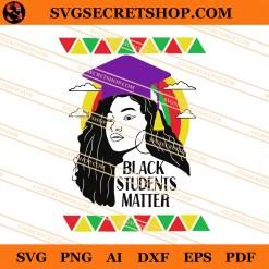 Black Students Matter SVG